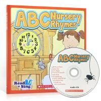 英文原版 Read and Sing:ABC Nursery Rhymes 启蒙早教经典韵文儿歌童谣 附原版英语发音C