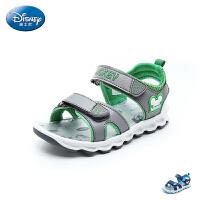 迪士尼Disney童鞋2018新款儿童凉鞋活力撞色男童沙滩鞋时尚休闲鞋 (9-13岁可选) S73685