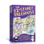 【中商原版】小屁孩树屋历险记 52层故事 英文原版 The 52-Storey Treehouse 疯狂树屋 7-12