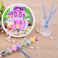 石膏画套装幼儿童手工制作刮画涂色立体画创意DIY彩绘画涂鸦