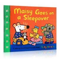 英文原版 亲子绘本 Maisy Goes on a Sleepover小鼠波波继续睡 认知趣味读物