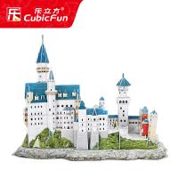 儿童3D立体拼图 拼装玩具智力拼图模型 立体拼图 建筑模型