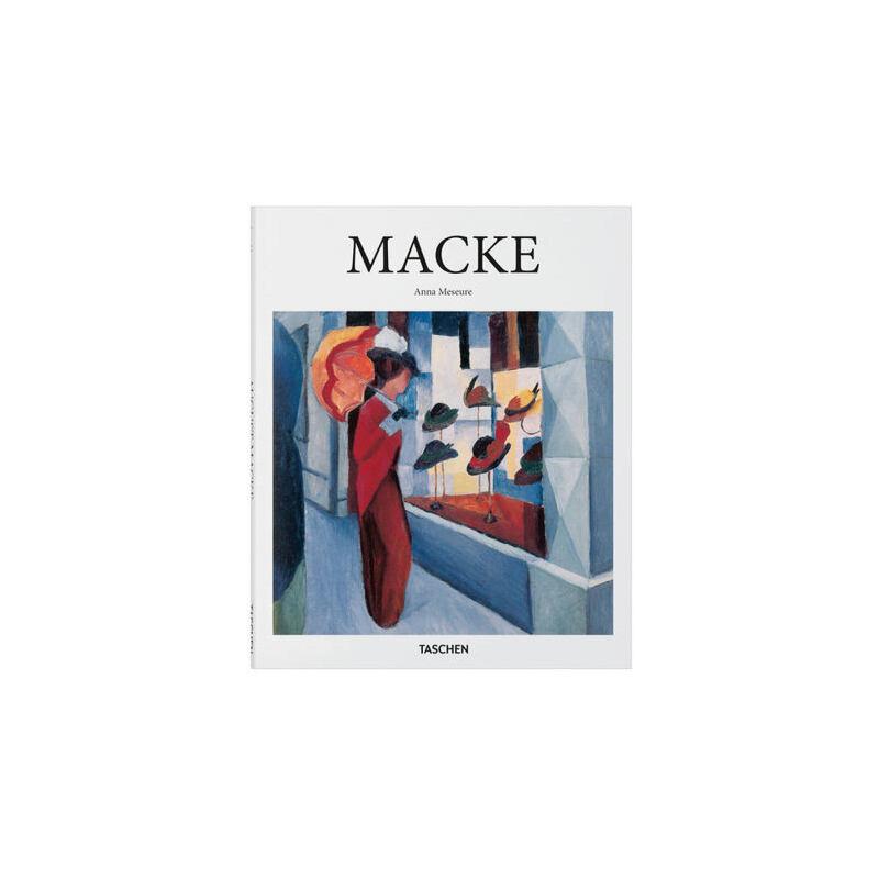 [现货]奥古斯特·马克 绘画艺术作品集画集 英文原版 August Macke 德国表现主义 蓝骑士 精装 Taschen 塔森 原版进口艺术书