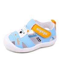 小宝宝凉鞋子夏季男女婴儿学步凉鞋透气幼童凉鞋