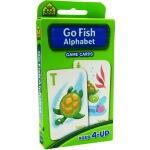 【字母游戏】School Zone Flash Cards Go Fish Alphabet 英文原版 儿童早教入学准