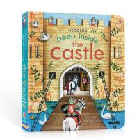英文原版 Peep Inside a Castle 偷偷看里面系列 城堡 科普翻翻书Usborne儿童启蒙早教绘本亲子
