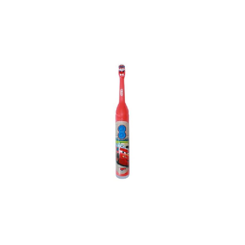 美国直邮 Oral-B欧乐B 儿童牙刷迪士尼图案电池入 汽车图案款 海外购 新款到货