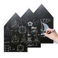 儿童黑板墙贴纸 自粘墙贴家用黑板墙装饰可擦写厚款 黑板贴
