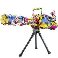 宜佳达 电动连发水弹枪 儿童玩具水弹枪可充电涂鸦版 战雷加特林619