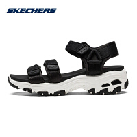 Skehers斯凯奇 D'LITES 休闲凉鞋沙滩鞋女夏季透气厚底鞋