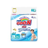 [当当自营]GOO.N大王 维E系列环贴式 婴儿纸尿裤 大号L24片(适合9-14kg)