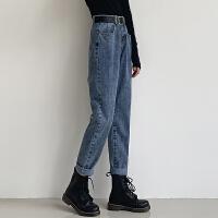 Lee Cooper 老爹裤长裤宽松直筒韩版牛仔裤 LCXR6617