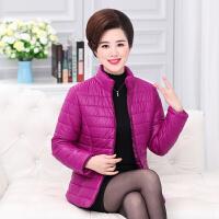 中老年女装棉衣妈妈冬装外套短款40-50岁新款潮中年加厚羽绒