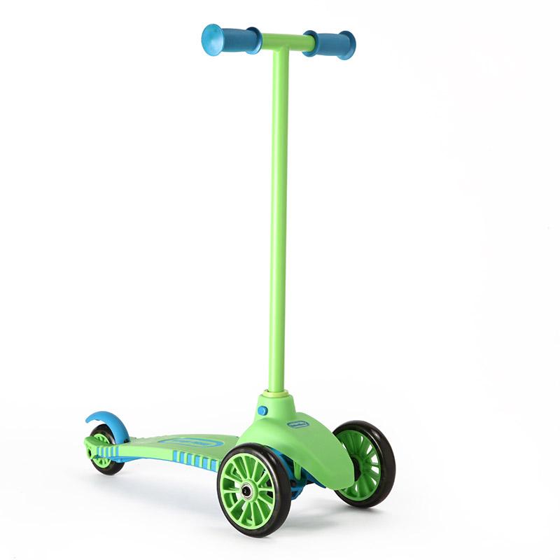 [当当自营]Little Tikes 小泰克 儿童三轮滑板车-绿色 485534PE 【当当自营】3轮安全设计 踏板加粗设计 可控性更高 防滑手柄 简易刹车系统 身体重心转向系统 防滑脚踏