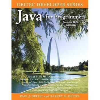 【预订】Java for Programmers 美国库房发货,通常付款后3-5周到货!