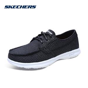 Skechers/斯凯奇休闲鞋女鞋透气气孔中口系带14422