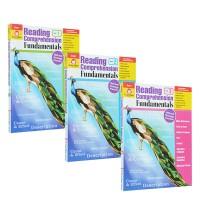 (300减100)【小学低年级 1-3年级】Reading Comprehension Fundamentals 3册 阅读理解基础强化练习 美国加州教材练习册 Evan Moor 英文原版