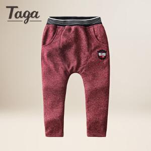 TAGA童装 春秋款男童针织长裤中大童运动裤儿童休闲潮流长裤