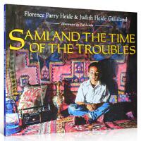 【全店300减100】英文原版 Sami and the Time of the Troubles绘本 汪培�E第四阶段