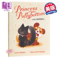 【中商原版】Olivia Chin Mueller:猫猫公主 Princess Puffybottom Darryl 精