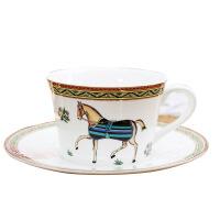 爱马图骨瓷咖啡杯 创意时尚家居小奢华茶杯餐具闺蜜生日礼物