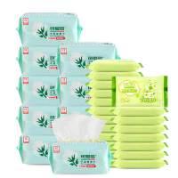 [当当自营]可爱多干湿多用棉柔巾80片*10包+可爱多婴儿湿巾10片*20包