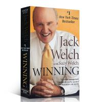 【全店300减100】英文版现货 Winning 赢 英文原版经济管理书 Jack Welch 杰克韦尔奇 通用电气CE