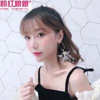 欧美夸张性感耳环韩国女耳饰品长款耳坠时尚气质复古流苏吊坠耳钉