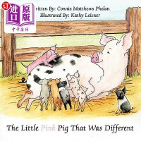 【中商海外直订】The Little Pink Pig That Was Different
