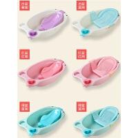 婴儿洗澡盆通用圆形宝宝浴盆幼儿童大号厚淋沐浴桶 可坐躺