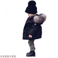 冬季3到4至5男童装6冬天7小男孩子8棉袄9儿童潮冬季羽绒棉衣服装10岁秋冬新款