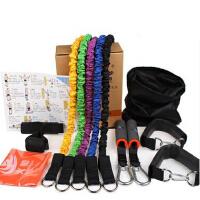 多功能拉力器材私教必备安全健身阻力绳 弹力拉力绳套装力量训练