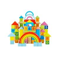 儿童积木玩具木制1-2周岁3-6岁6-8-10岁男孩女孩宝宝早教玩具