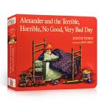 顺丰发货 汪培�E推荐 Alexander and the Terrible, Horrible, No Good, V