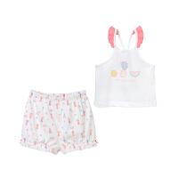 婴儿家居服套装 儿童棉质睡衣居家服套装宝宝睡衣
