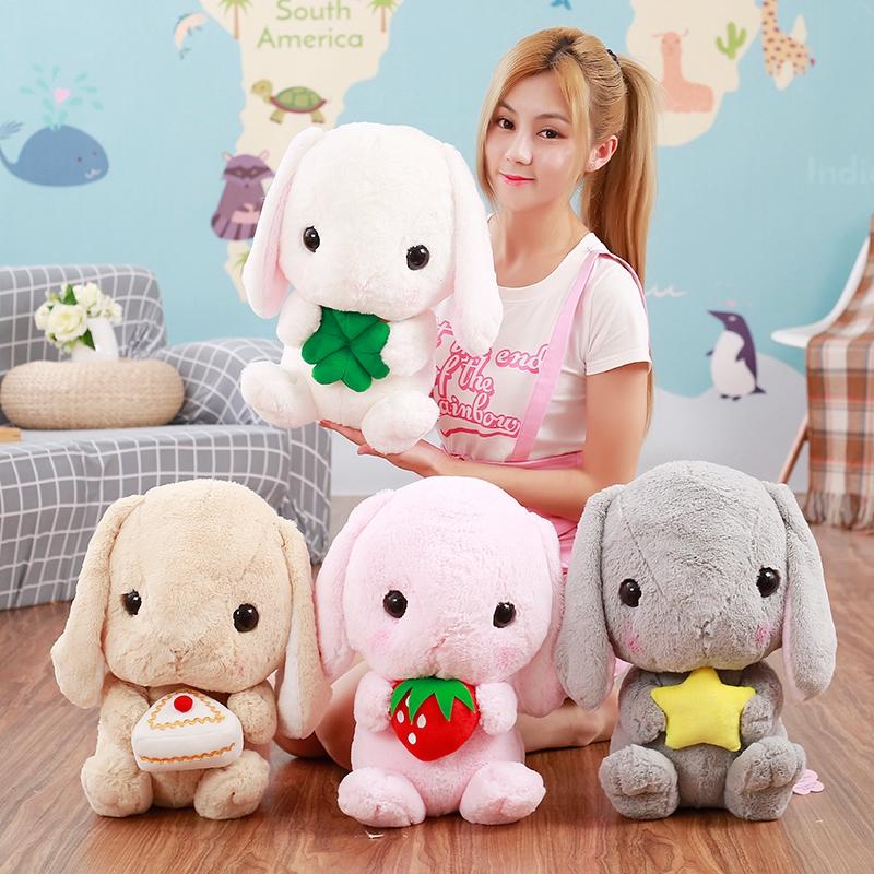 新款垂耳兔公仔可爱兔子毛绒玩具兔兔玩偶布娃娃生日礼物女生