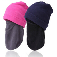 保暖蒙面帽  男女骑行防风头套cs面罩围脖护脸 户外抓绒帽
