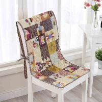 田园餐桌椅垫套装办公室椅子连体垫