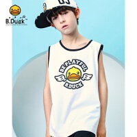 【3折价:68.7】B.Duck小黄鸭童装男童T恤背心BF2105903