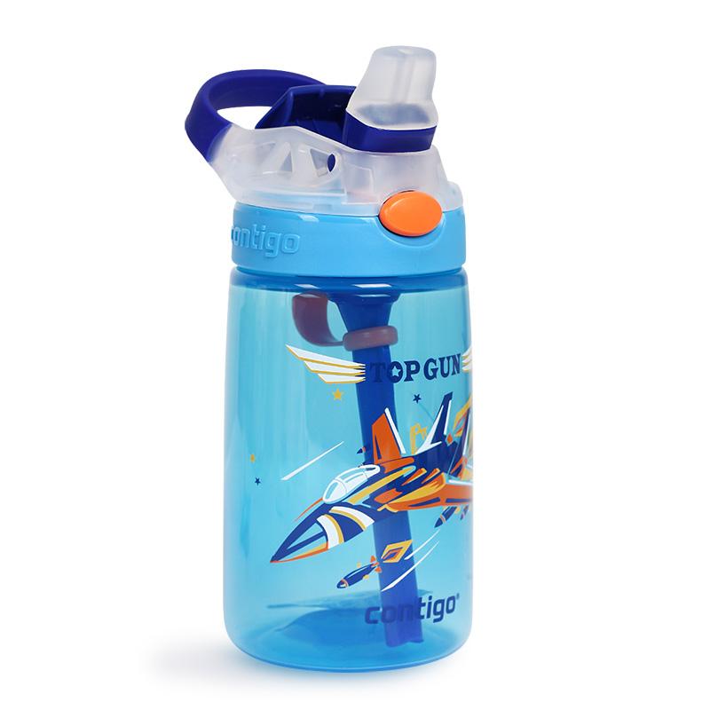 美国Contigo康迪克鸭嘴杯吸管杯宝宝儿童水杯喝水杯婴儿饮水杯