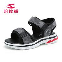 哈比熊儿童凉鞋夏季新款男童凉鞋女孩凉鞋韩版沙滩鞋