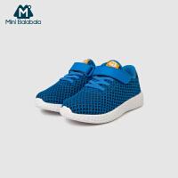 【满200减130】迷你巴拉巴拉儿童轻便防滑跑鞋运动鞋2019春季新款男女童透气鞋子