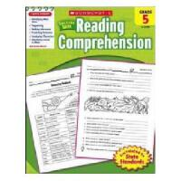 英文原版Scholastic Success With Reading Comprehension, Grade 5学