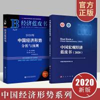 2册组合 正版包邮 中国宏观经济蓝皮书2020+经济蓝皮书 2020年中国经济形势分析与预测 经济发展改革