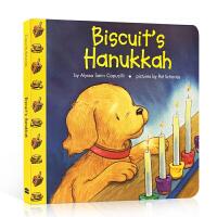 英文原版 Biscuit's Hanukkah小饼干的光明节