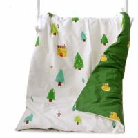 婴儿床垫子垫被宝宝纯棉铺垫尿垫新生棉花床垫被褥子棉垫四季通用 玫瑰