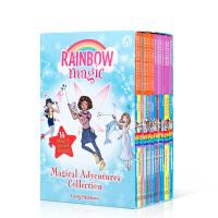 【全店300减100】进口英文原版彩虹魔法仙子14册Rainbow Magic 盒装奇幻故事书课外拓展阅读