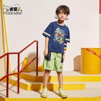 男童装纯棉短袖t恤2020夏季新款儿童洋气打底衫中大童韩版上衣潮