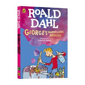 小乔治的神奇魔药 英文原版小说 George's Marvellous Medicine 罗尔德达尔 Roald Dahl