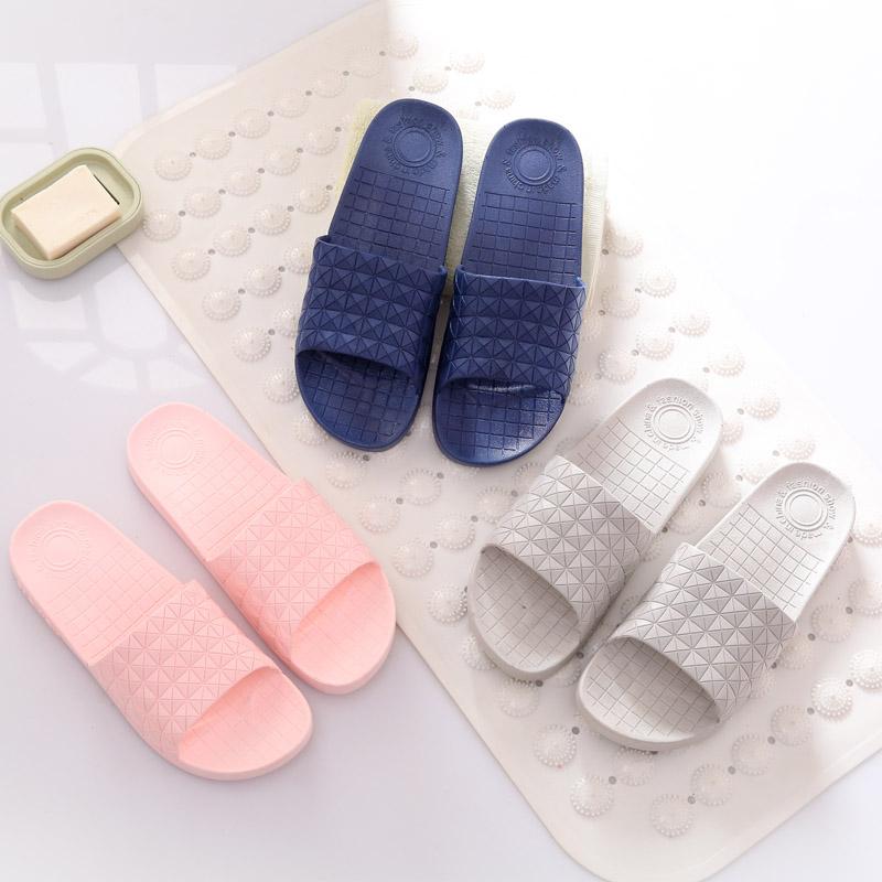 泰蜜熊多款可选一体成型PVC防滑软底舒适夏季情侣款居家凉拖鞋酒店宾馆浴室拖鞋 支持积分抵现